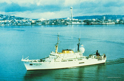 Emmett Smith NOAA Research Vessel OCEANOGRAPHER